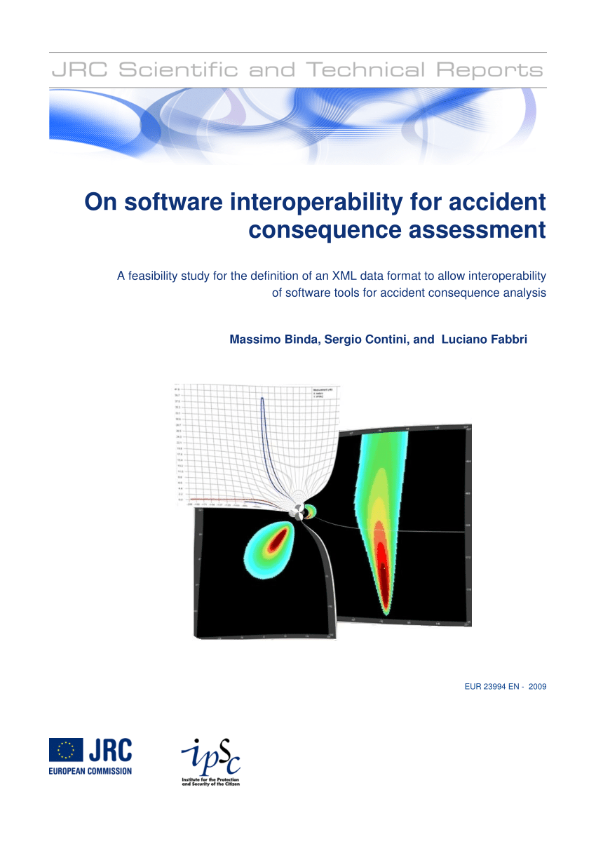 hight resolution of  pdf on software interoperability for accident consequence assessment