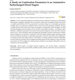pdf a study on combustion parameters in an automotive turbocharged diesel engine [ 850 x 1202 Pixel ]