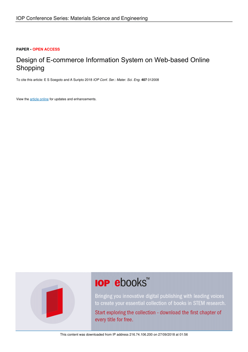 medium resolution of  pdf design of e commerce information system on web based online shopping