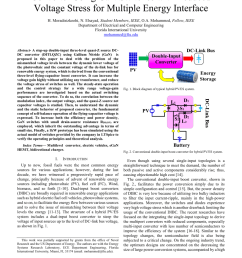 pdf a double input three level quasi z source converter using gan switches with reduced voltage stress for multiple energy interface [ 850 x 1203 Pixel ]