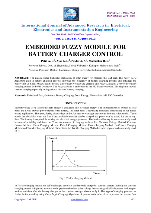 small resolution of  pdf pic based solar charging controller for battery