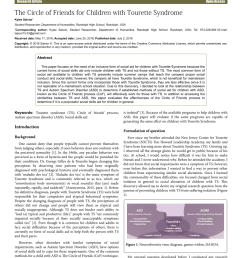 pdf the circle of friends for children with tourette syndrome [ 850 x 1202 Pixel ]
