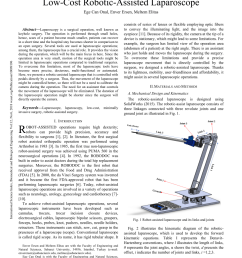 robot assisted laparoscope and its kinematic diagram using the rh researchgate net kinematic drawing kinematic hardening [ 850 x 1203 Pixel ]