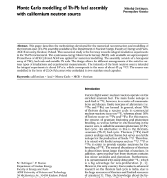 the mcb code for numerical modeling of fourth generation nuclear reactors request pdf [ 850 x 1203 Pixel ]