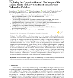 the influence of young children s use of technology on their learning a review request pdf [ 850 x 1202 Pixel ]