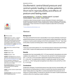 differences in blood pressure by body position supine fowler s and sitting in hypertensive subjects giancarlo cicolini request pdf [ 850 x 1100 Pixel ]