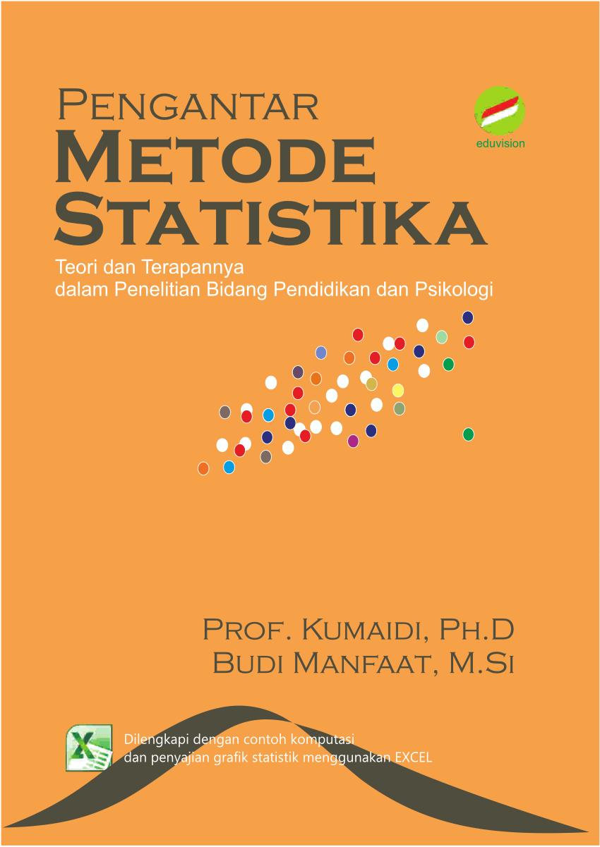 Download Buku Statistika Pdf : download, statistika, Pengantar, Metode, Statistika:, Teori, Terapannya, Dalam, Penelitian, Bidang, Pendidikan, Psikologi