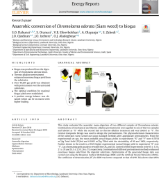 comparative biogas generation from fruit peels of fluted pumpkin telfairia occidentalis and its optimization request pdf [ 850 x 1133 Pixel ]