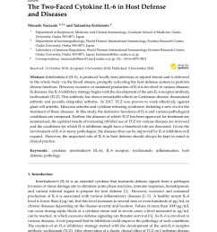 pdf functional inhibition of hematopoietic and neurotrophic cytokines by blocking the interleukin 6 signal transducer gp130 [ 850 x 1202 Pixel ]