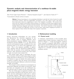 pdf dynamic analysis and characterization of a nonlinear bi stable piezo magneto elastic energy harvester [ 850 x 1202 Pixel ]