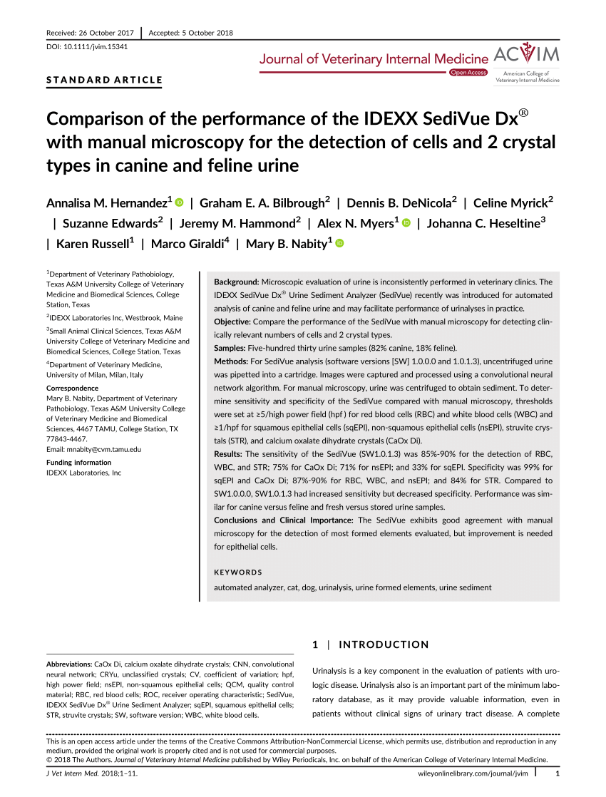 medium resolution of  pdf preliminary evaluation of the iris iq 200 automated urine analyser