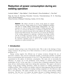 pdf reduction of power consumption during arc welding operation [ 850 x 1252 Pixel ]