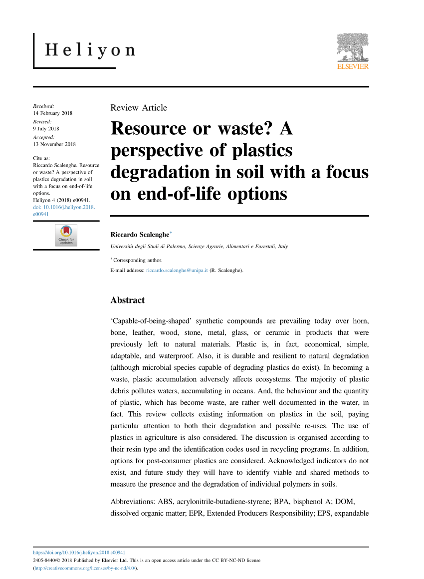 hight resolution of  pdf mechanical and chemical recycling of solid plastic waste