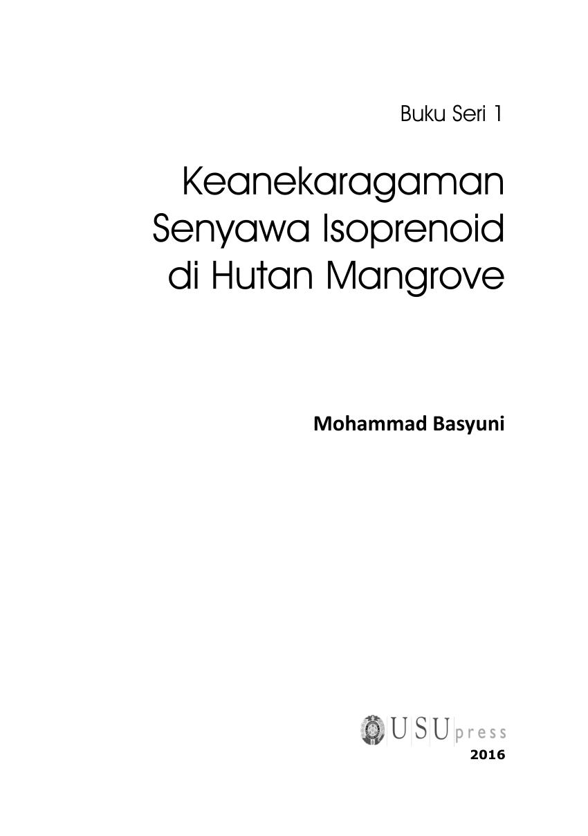 medium resolution of  pdf keanekaragaman senyawa isoprenoid di hutan mangrove