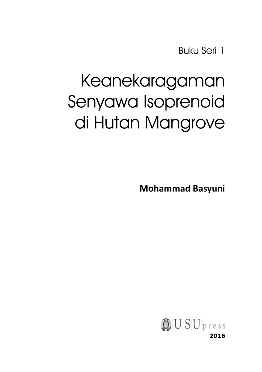 hight resolution of  pdf keanekaragaman senyawa isoprenoid di hutan mangrove