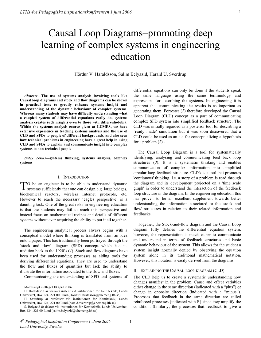 medium resolution of  pdf causal loop diagrams promoting deep learning of complex systems in engineering education