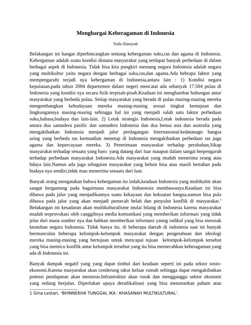 Cara Menghargai Keragaman Budaya : menghargai, keragaman, budaya, Menghargai, Keberagaman, Indonesia