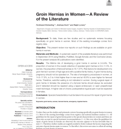pdf inguinal hernia repair in women is the laparoscopic approach superior  [ 850 x 1113 Pixel ]