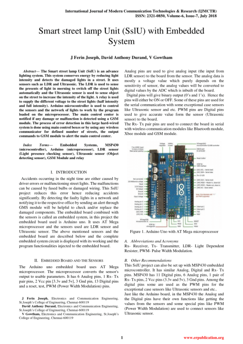 small resolution of  pdf electrical safety of street light systems