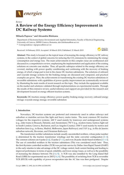 small resolution of  pdf reactive power and harmonic distortion control in electric traction systems