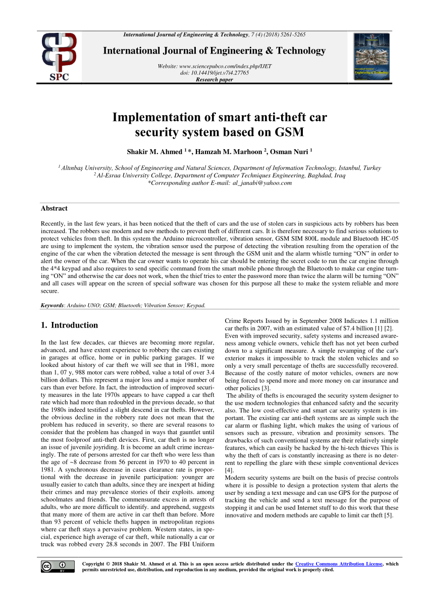 medium resolution of  pdf a practical design of anti theft car protection system based on microcontroller