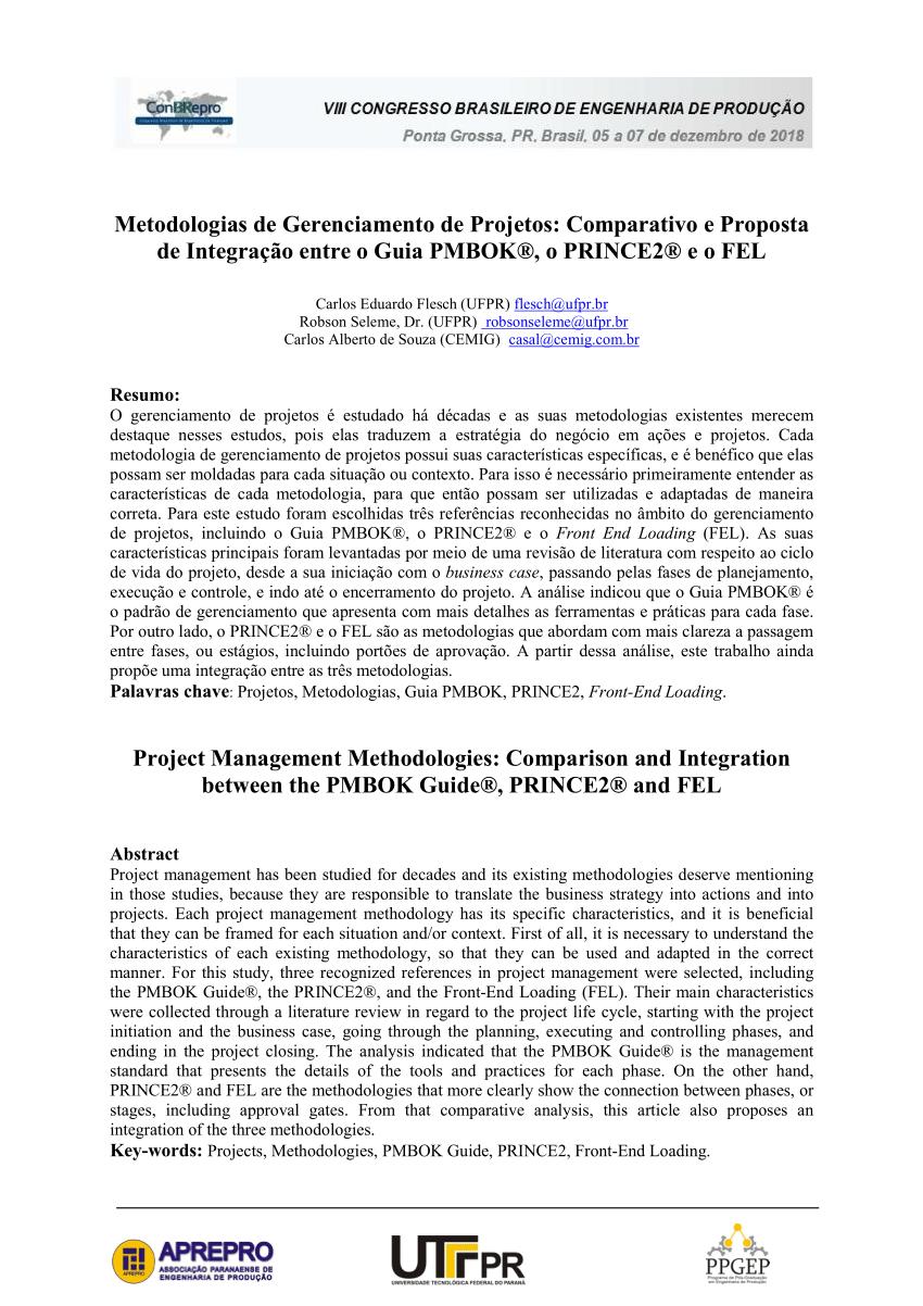 medium resolution of  pdf methodologies used in project management