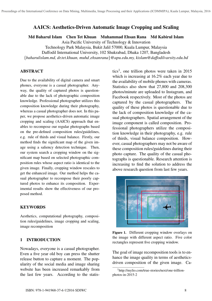 hight resolution of learning the change for automatic image cropping jianzhou yan request pdf