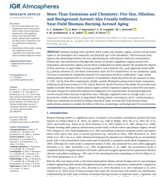 pdf speciated and total emission factors of particulate organics from burning western u s wildland fuels and their dependence on combustion efficiency [ 850 x 1100 Pixel ]