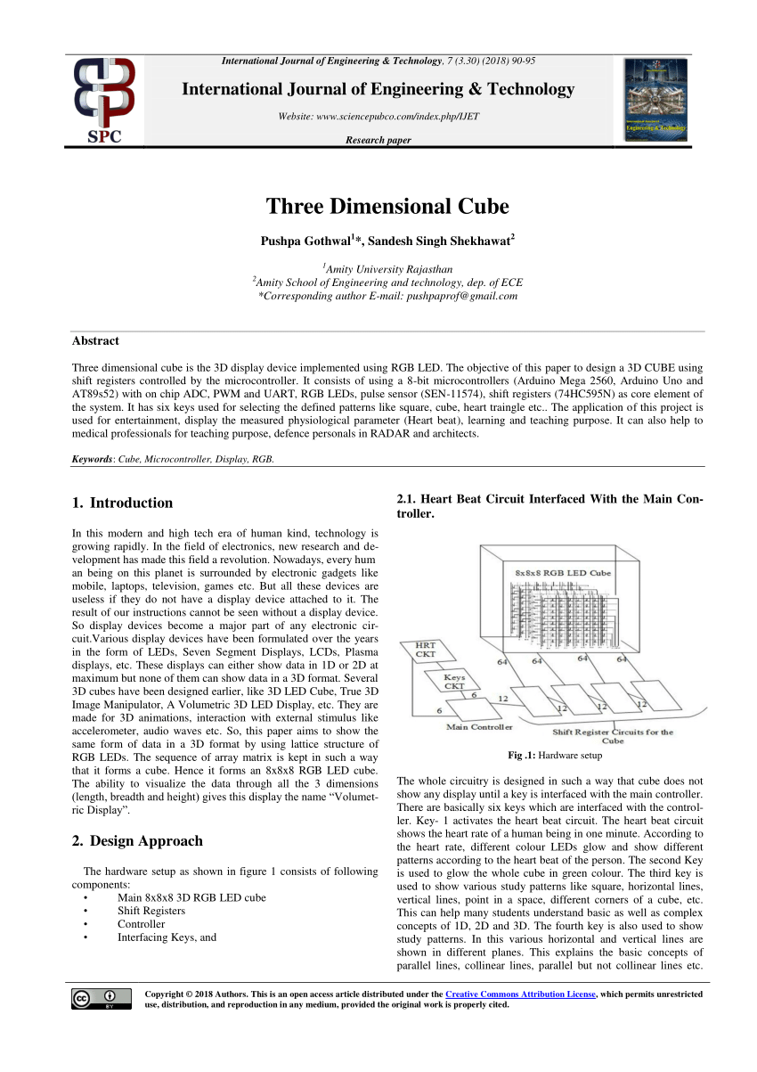 hight resolution of  pdf three dimensional cube