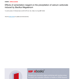 microbial carbonate precipitation in construction materials a review willem de muynck request pdf [ 850 x 1203 Pixel ]