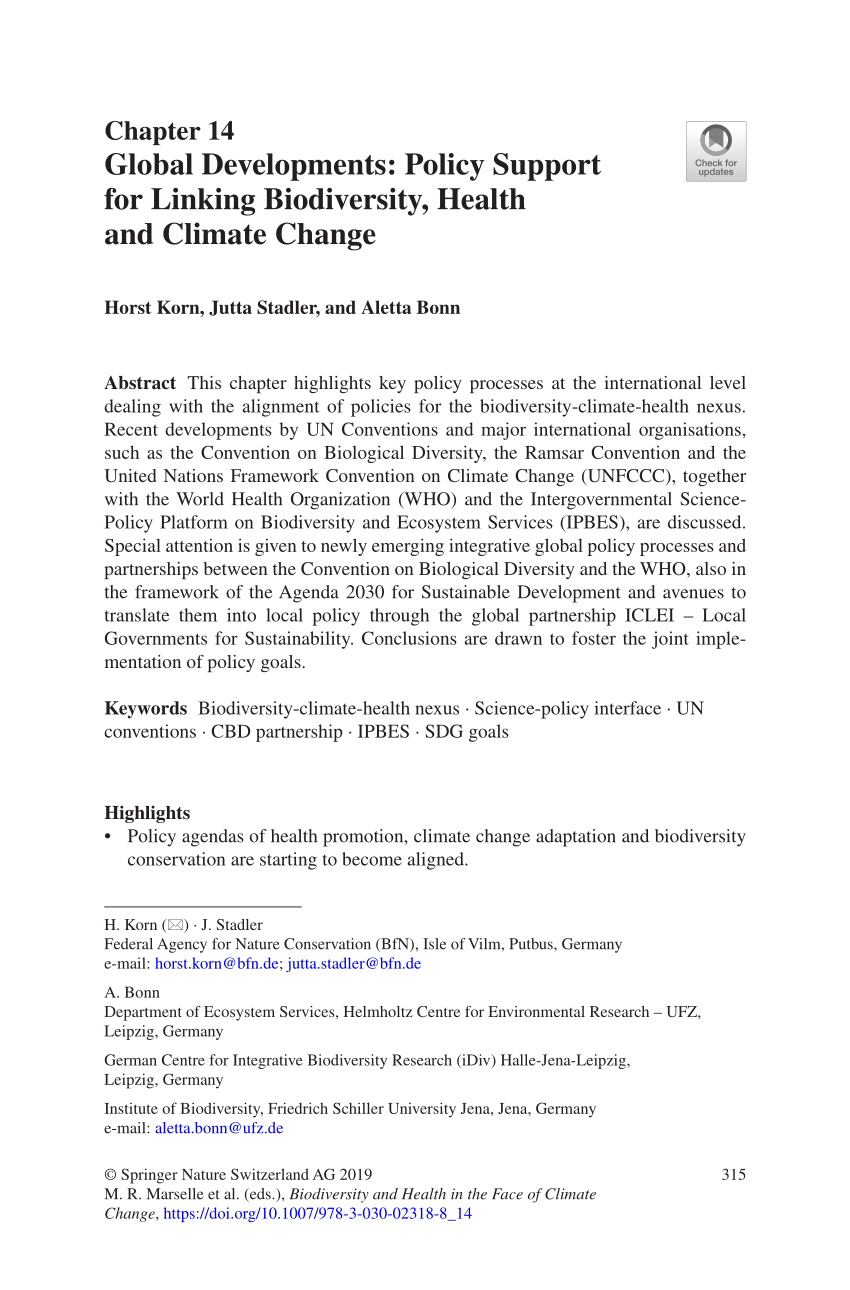 medium resolution of  pdf nature based solutions to climate change mitigation and adaptation in urban areas