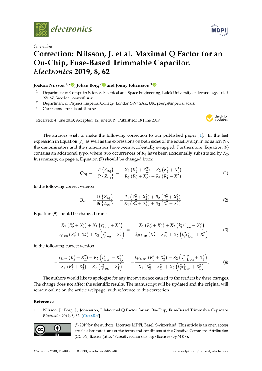 hight resolution of  pdf maximal q factor for an on chip fuse based trimmable capacitor