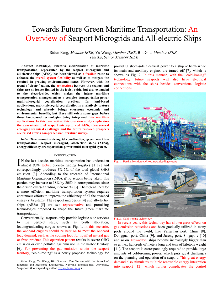 medium resolution of  pdf past present and future challenges of the marine vessel s electrical power system