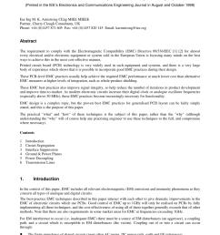 pdf pcb design techniques for lowest cost emc compliance part 1 [ 850 x 1203 Pixel ]
