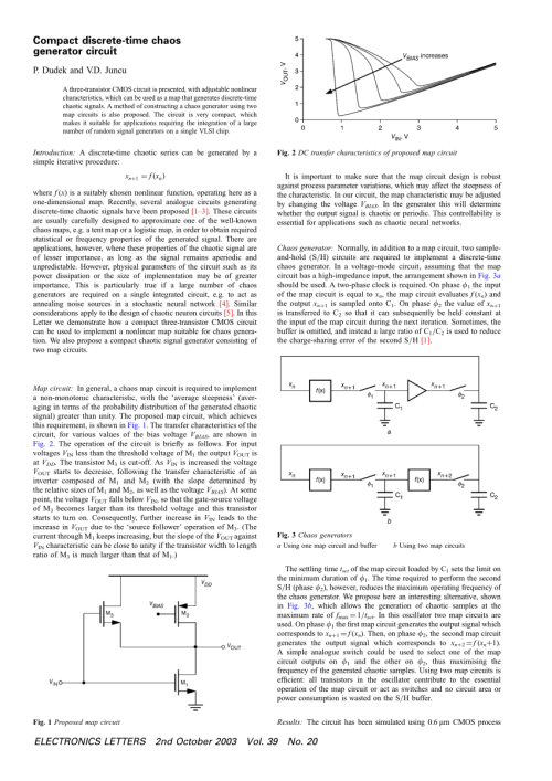 small resolution of  pdf impact of temperature variation on performance of carbon nanotube field effect transistor based chaotic oscillator a quantum simulation study