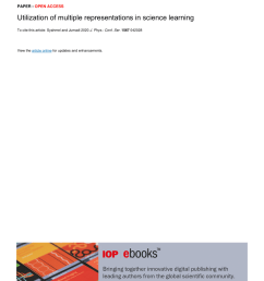 PDF) Utilization of multiple representations in science learning [ 1203 x 850 Pixel ]