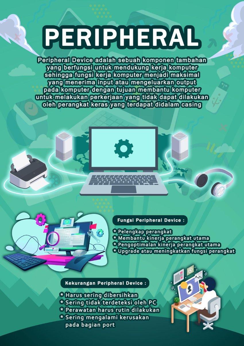 Peripheral Utama : peripheral, utama, Poster, Peripheral, Computer