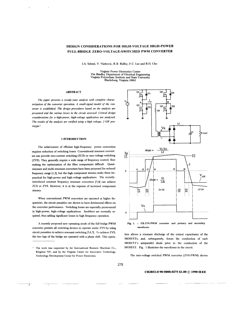 hight resolution of  pdf simulation and experimental results of dc to dc converter with reduced losses