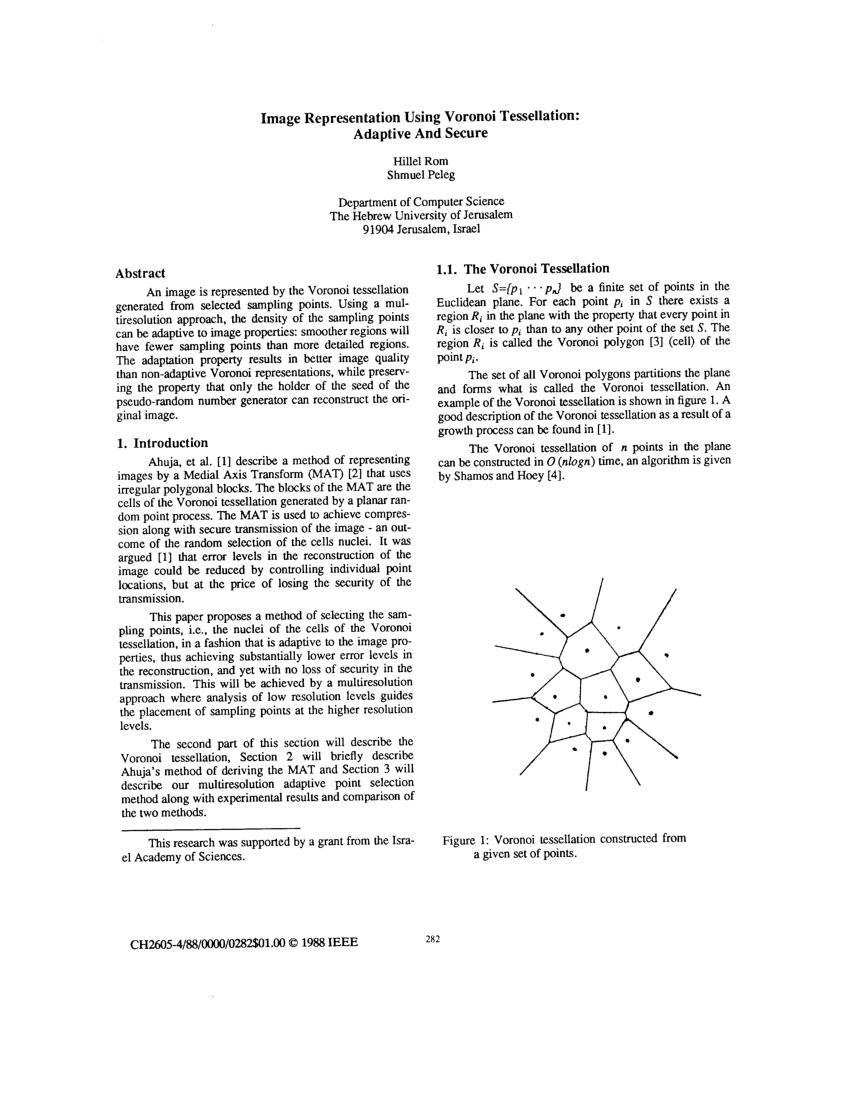 medium resolution of segmentation and measurement based on 3d voronoi diagram application to confocal microscopy