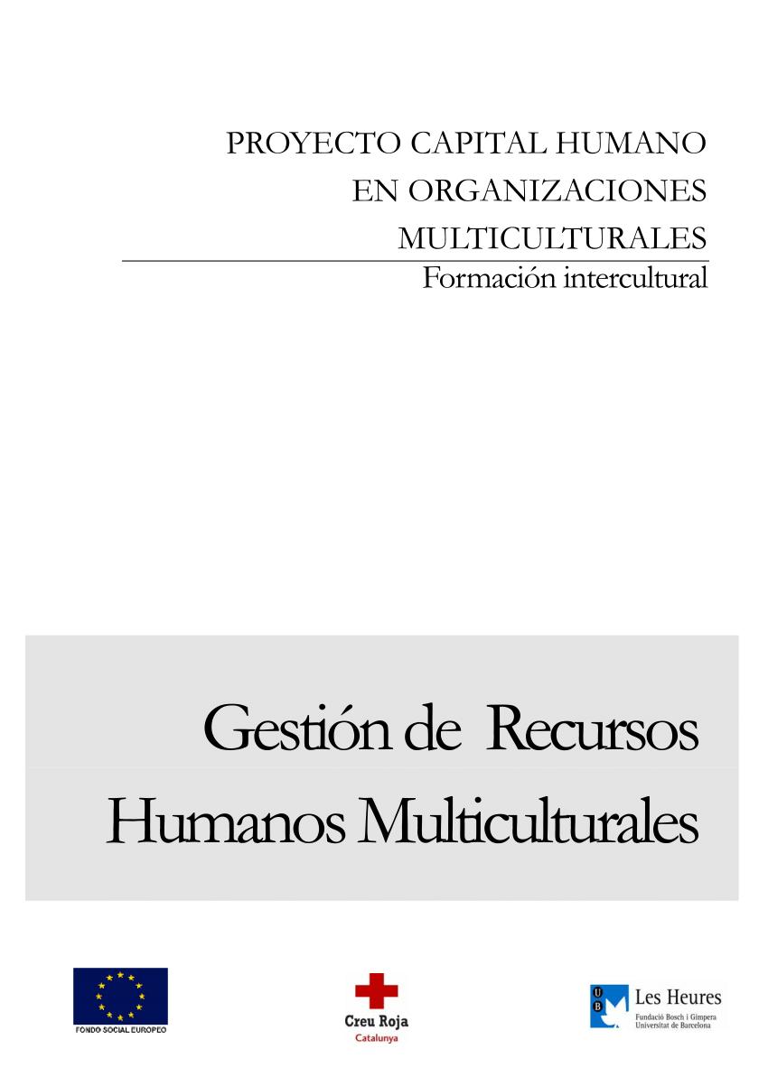 (PDF) Gestión de recursos humanos multiculturales