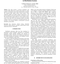 pdf state estimation and optimal setting of voltage regulator in distribution systems [ 850 x 1201 Pixel ]