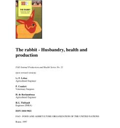 pdf the rabbit husbandry health and production [ 850 x 1203 Pixel ]