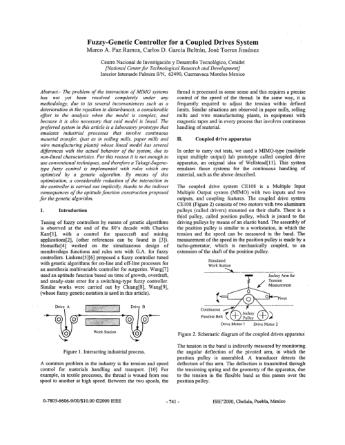 small resolution of  pdf fuzzy genetic controller for a coupled drives system m a p ramos