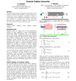 pdf equivalent circuit models for the analysis of coaxial cables immunity [ 850 x 1100 Pixel ]
