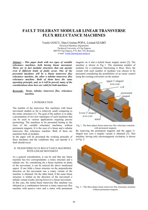 small resolution of the working principle of the permanent magnet linear transverse flux download scientific diagram