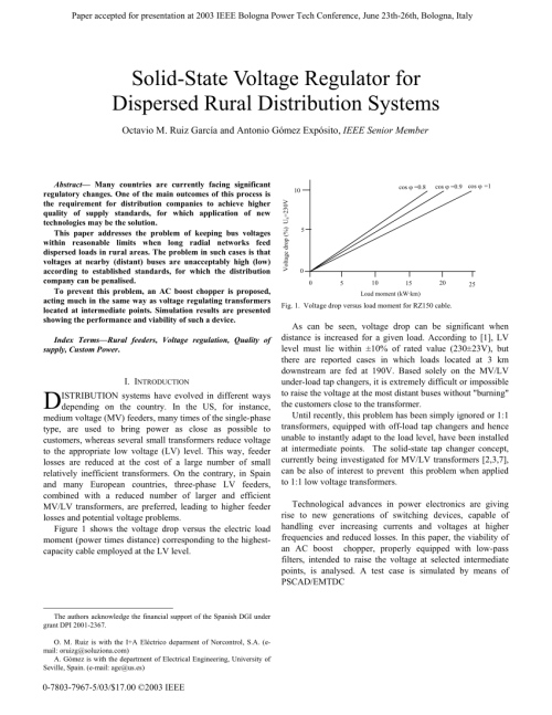 small resolution of  pdf solid state voltage regulator for dispersed rural distribution systems