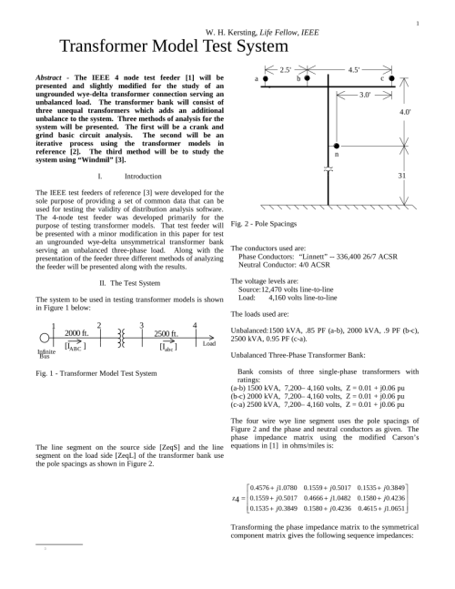 small resolution of  pdf transformer model test system