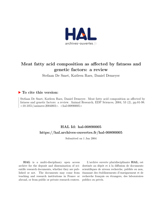 small resolution of  pdf the effect of sex and dgat1 gene polymorphism on fat deposition traits in simmental beef cattle