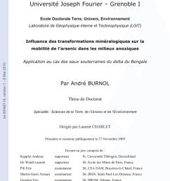 pdf influence des transformations min ralogiques sur la mobilit de l arsenic dans les milieux anoxiques application au cas des eaux souterraines du  [ 850 x 1203 Pixel ]