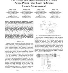 pdf the design and implementation of a shunt active power filter based on source current measurement [ 850 x 1100 Pixel ]